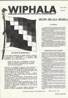 WIPHALA - EMBLEMA NACIONAL DEL PUSI-SUYU TAWANTINSUYO  - 1992 - Documentos Históricos