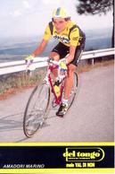 AMADORI Marino ITA (Predappio Alta (Emilia-Romagna), 9-4-'57) 1989 Del Tongo - Mele Val Di Non - Cyclisme