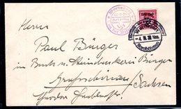 Sudetenland, Rumburg Mi.-Nr. 9, Auf Fernbrief - Besetzungen 1938-45