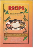 RECIPE - SPICES AND HERBS - COOKING METHOD - HIMALAYAN SPICES & HERBS SUPPLIERS - NEPAL - Cocina, Platos Y Vinos