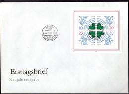 "DDR, FDC Block ""35 Jahre DDR"" - FDC: Briefe"
