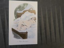 MA - Cpsm Série érotique - 3 Carte De La Série - Drawings