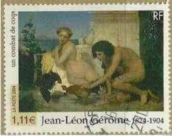 2004 Yt 3660 (o) Jean-Léon Gérôme (1824-1904) Un Combat De Coqs - France