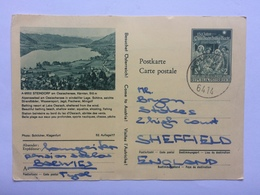 AUSTRIA 1969 Illustrated Postcard Sent To Sheffield - 1945-.... 2. Republik