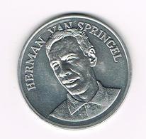 //  PENNING BP  HERMAN VAN SPRINGEL - Souvenirmunten (elongated Coins)