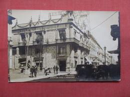 RPPC  Avenue Madero   Paper Residue On Back > Mexico  -ref    3574 - Mexiko