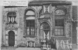 1 CPA 1912 Sluis Oud Huis 13e Eeuw Op De Hoogstraat - Met Kinderen - Sluis