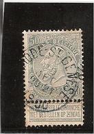 Belgique N°63 Rhodes St Genèse - 1893-1900 Fine Barbe