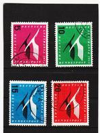 YZO842 DEUTSCHLAND - BRD 1955 Michl 205/08 Gestempelt SIEHE ABBILDUNG - Gebraucht