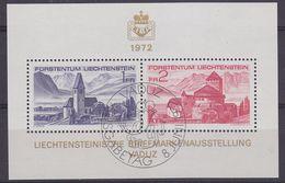 Liechtenstein 1972 Liba M/s Used 1st Day (44373) - Blokken