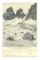 AK Sella Joch - Touristenhaus - Um 1900 - Ohne Zuordnung