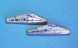 2 PIN'S //   ** 2 TGV DIFFÉRENTS . (DECAT PARIS & FONIDUL) - TGV