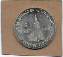 100 VICOGNE 1982 DIKSMUIDE OOSTKERKE DE SINT-PIETERSKERK - Gemeentepenningen