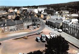 BOURBRIAC - Place Et Route De Guingamp - Camion - Automobiles - Pharmacie - 2cv Citroën - France