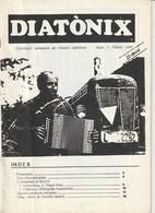 DIATONIX - PUBLIKACIO ADREÇADA ALS MUSICS DIATONIXS - NUM  1 - FEBRER 1990 - CATALA - Libros, Revistas, Cómics