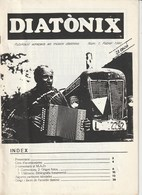 DIATONIX - PUBLIKACIO ADREÇADA ALS MUSICS DIATONIXS - NUM  1 - FEBRER 1990 - CATALA - Boeken, Tijdschriften, Stripverhalen