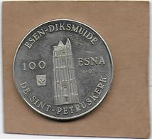 100 ESNA 1982 DIKSMUIDE ESEN DE SINT-PETRUSKERK - Gemeentepenningen