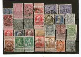 Lot Alte Belgien  Falz / Gestempelt - Stamps