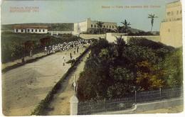 SOMALIA ITALIANA ESPOSIZIONE 1911 MERCA VIALE CHE CONDUCE ALLA GARRESA - Somalia