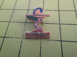 411F Pin's Pins / Rare Et  Belle Qualité !!! THEME : MEDICAL / CLUB OCP CADUCEE PHARMACIE ? - Médical