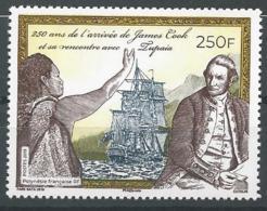 Polynésie Française 2019 - 250e Anniversaire De L'arrivée De James Cook - Polynésie Française
