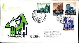 13239a)F.D.C.SAN Marino    Vedute Di San Marino - 16 Febbraio 1961 - FDC