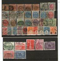 Lot Alte Dänemark  Falz / Gestempelt - Lots & Kiloware (mixtures) - Max. 999 Stamps