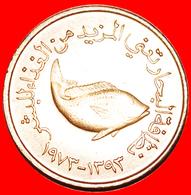+ GREAT BRITAIN: UNITED ARAB EMIRATES ★ 5 FILS 1393-1973 MINT LUSTER! LOW START ★ NO RESERVE! - United Arab Emirates