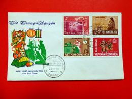 Viet-Nam Du Sud - Premier Jour - Saïgon - 30/8/1966 - N°286/289 - Fête Des âmes Errantes - Viêt-Nam