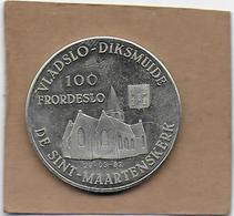 100 FRORDESLO 1982 DIKSMUIDE ESEN DE SINT-MAARTENSKERK - Gemeentepenningen