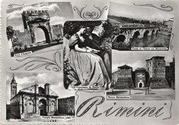 CT-02937- RIMINI - 5 VEDUTINE-NON VIAGGIATA FRANCESCA DA RIMINI - Rimini