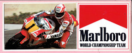 Sticker - Marlboro - World Championship Team - YAMAHA - Michelin - MOTUL - SHOEI - Stickers