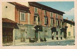 """CT-02938- PIOBESI TORINESE- """"RISTORANTE PETTITI""""-INSEGANA TABACCHERIA- ANIMATA-NON VIAGGIATA - Italia"""