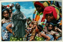Bénin Statue Toffa 1er Porto Novo - Benin