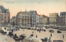 Halle A. Saale - Anim. - Markt - Halle (Saale)
