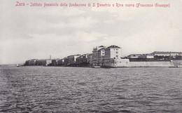 Zadar (Zara) * Instituto Femminile, Strand, Stadtteil, Stengel Nr. 40407 * Kroatien * AK279 - Kroatië