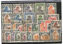 Lot Alte Marken Nyassa Mit Falz + Gestempelt - Lots & Kiloware (mixtures) - Max. 999 Stamps