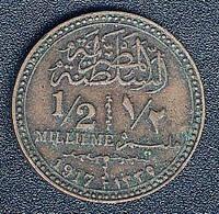 Ägypten, 1/2 Millieme 1917 - Aegypten