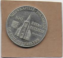 100 NOVA-ECCLECIA 1982 DIKSMUIDE LEKE DE SINT-PIETERSKERK - Gemeentepenningen