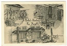 Hôtel-Restaurant La Fayette - Rue Jacquet - Rochefort - Circulée En 1969 - 2 Scans - Rochefort