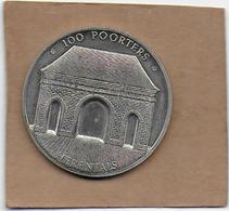 100 POORTERS 1982 HERENTALS - Gemeentepenningen