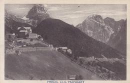 Mangart * Predil Col Mangart, Mangartstraße, Berghütte, Julische Alpen * Slowenien * AK282 - Slovenia