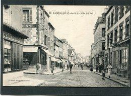 CPA - LAMBALLE - Rue Du Val, Animé - Lamballe