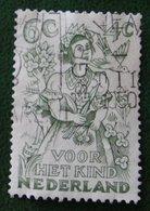 6 + 4 Ct Kinderzegel Child Welfare Enfants NVPH 546 (Mi 548) 1949 Gestempeld / USED NEDERLAND / NIEDERLANDE - Periodo 1949 - 1980 (Giuliana)