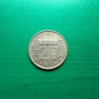 25 Cent Münze Aus Den Niederlanden Von 1985 (vorzüglich) - [ 3] 1815-… : Koninkrijk Der Nederlanden