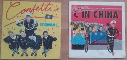 Lot De 2 45T - Confetti's - C In China - The Sound Of C - Dance, Techno & House