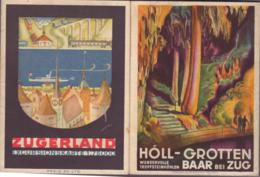 Grotte - Höhle - Cave - Höllgrotten Bei Baar  +  Karte 1:75000 - Dépliants Touristiques