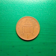 1 New Penny Münze Aus Großbritannien Von 1971 (sehr Schön) - 1971-…: Dezimalwährungen