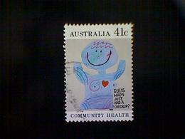 Australia, Scott #1173, Used(o), 1990, Community Health, Medical Checks, 41c, Multicolored - 1990-99 Elizabeth II