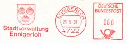 Freistempel 6675 Ennigerloh Wappen Muscheln - [7] République Fédérale